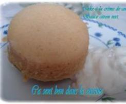 Cakes à la crème de coco, sirop citron vert