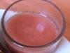 Soupe de melon framboises