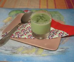 La soupe froide et verte