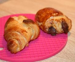 croissants et pains aux chocolats
