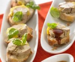 Le foie gras, cuisson vapeur