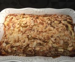 Clafoutis abricot mirabelle amande