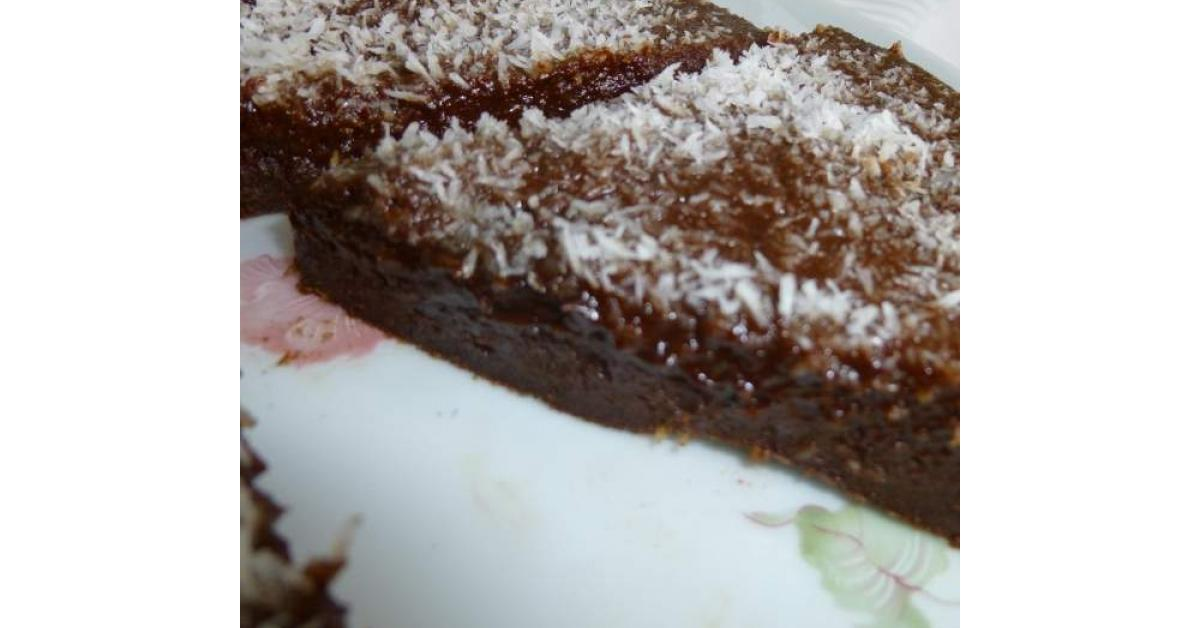 Fondant au chocolat sans beurre (ni crème, ni huile) par ...