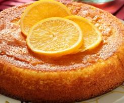 Gateau moelleux à l'orange.