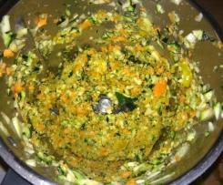 semoule de légumes