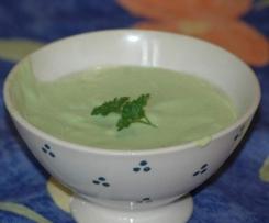 Sauce verte - accompagnement poissons ou crudités
