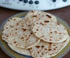 Petits pains Indiens, les chapatis