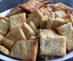 Crackers de romarin