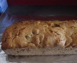 CAKE aux figues séchées et oranges confites