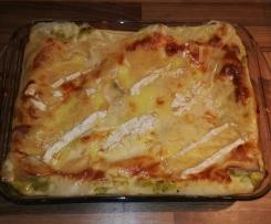 Lasagnes de courgettes au Camembert