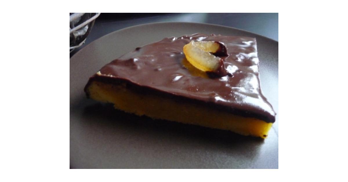 Fondant à l'orange, glaçage au chocolat by Papilles-on-off on www ...