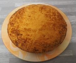 gateau basque à la crème patissière
