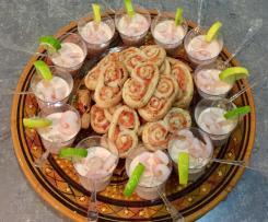 Mousse de crevettes en verrines