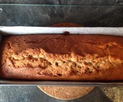 Cake au gingembre et cannelle