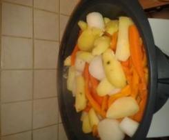 Potage Poireaux Carottes pommes de terre