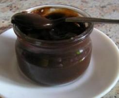 Crème au chocolat (sans oeuf)