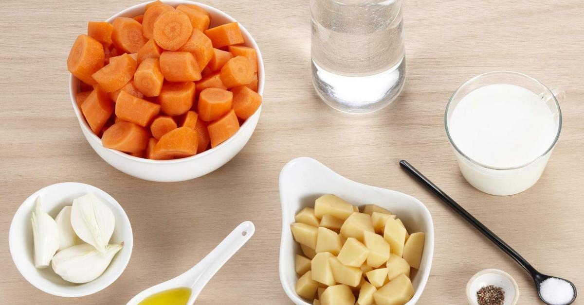 Cr me de carotte par thermomix une recette de fan - Espace cuisine thermomix ...