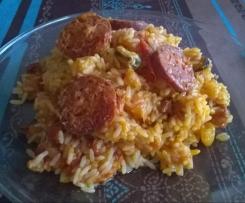riz facon paella