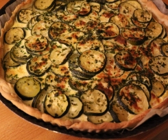 Tarte courgettes-thon
