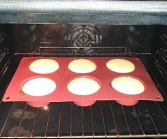 Muffins typetarte au fromage blanc sans pâte