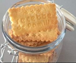 Biscuits à la polenta