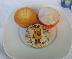 Cake ou Cupcakes au jus de pomme / gâteau au jus de pomme