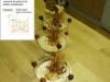 trio de saveurs, chocolaté, couronné de perles et résilles caramélisées
