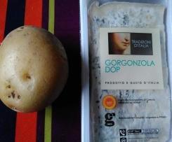 Gratin pomme de terre / gorgonzola