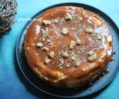 Cheesecake et son caramel au beurre salé