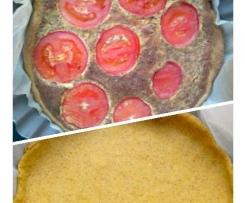 Tarte Tomate Curcuma