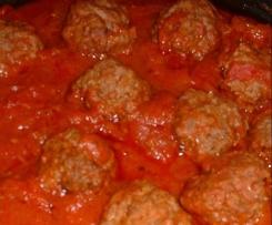 boulette de boeuf sauce bolognaise