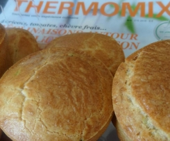 pour 10-15 muffins courgettes-graines de lin