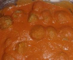 Boulettes de boeuf légères à la sauce tomate