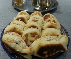 petits pains marocains garnis