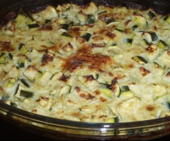 GRATIN DE COURGETTE LIGHT