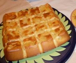 Gâteau au yaourt et à l'ananas