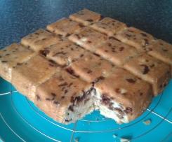 Gâteau avec les restes de chocolat de Noël ou de Pâques