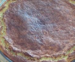 Quiche sans pâte courgettes gruyère