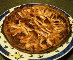 tarte ou tartelettes mirliton aux pommes (amandes et vanille)