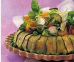 Savarin de courgettes