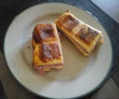 Pain perdu jambon fromage