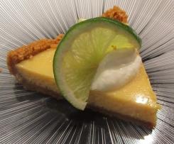 Key lime pie ou tarte au citron vert