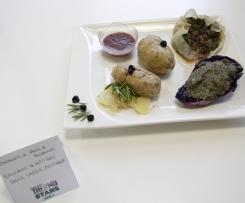 Quenelles de Fauve de Bourgogne avec Baluchons de petits gris