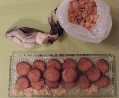Cookies à la poussière de cornflakes et banane trop mûre
