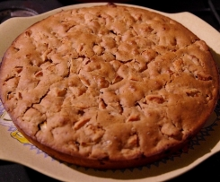 Gâteau aux pommes végane sans gluten