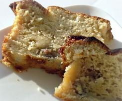 Cake aux noix au yaourt