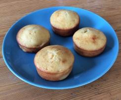 Muffins à la pêche et à la vanille