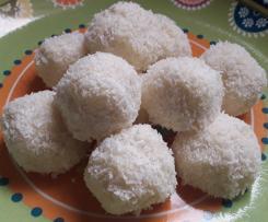 Bouchées fondantes coco et malibu