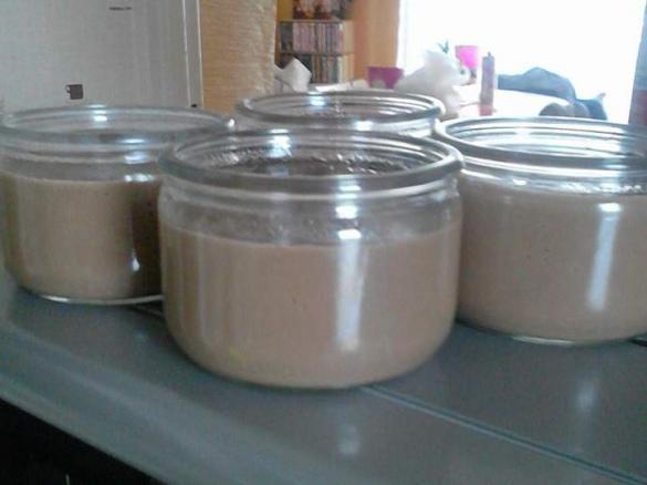 cr me au nutella par littlecycy une recette de fan. Black Bedroom Furniture Sets. Home Design Ideas