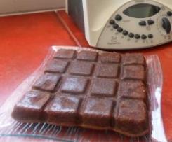 Gâteau moelleux choco/noix
